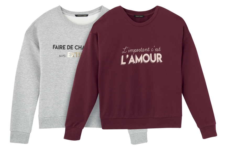 COMPO-SWEAT-GRIS-CHINE-BORDEAUX