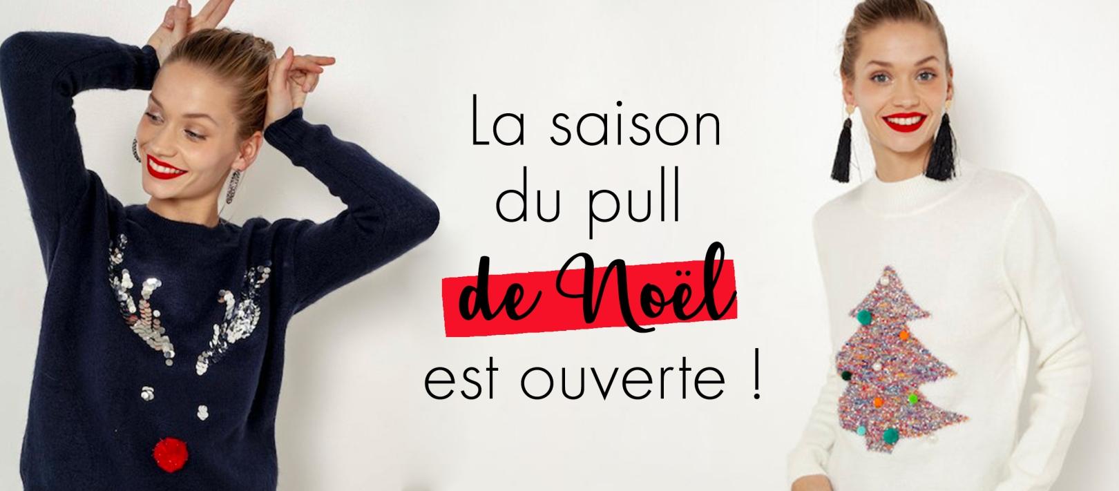 b116d4a48ae La saison du pull de Noël est ouverte ! - webzine Camaïeu